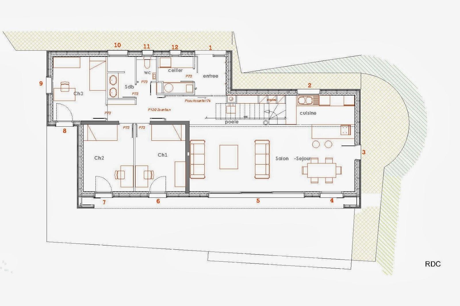 Une Belle Maison Contemporaine En Bois Tyerra Architectes Projets