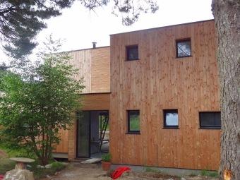 Architecte Finistère maison ecologique bois douarnenez
