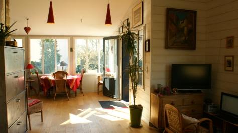 intérieur - maison bois Finistère