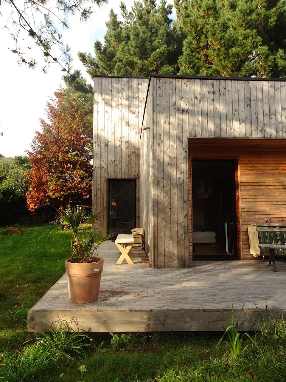Une belle maison contemporaine en bois  Tyerra · architectes