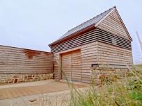 École de Surf, architecture au Cap Sizun.
