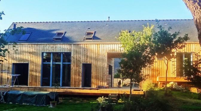 maison cologique en bottes de paille tyerra architectes - Maison Ecologique En Paille
