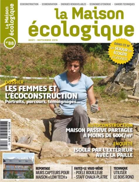 Nouvel article sur la maison cologique tyerra architectes - La maison ecologique ...